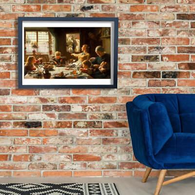 Ottenere la propria famiglia fotografia come arte STAMPA A4 A3 A2 A1