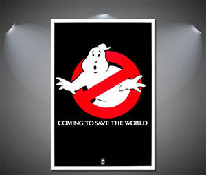 Ghostbusters Vintage Movie Poster A1 A3 A4 sizes A2