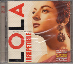 LOLA-FLORES-034-IRREPETIBLE-034-RARE-amp-OOP-SPANISH-2CD-SET-MANOLO-CARACOL-FLAMENCO