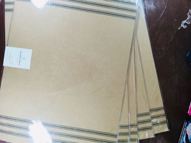 Brown Kraft Paper Place mats pack of 10 Hearth and Hand Magnolia
