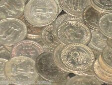 100 Coins LOT -  1959 1960 1961 1962 1963 1964 1965 1966 -  Nickel 25 Paise