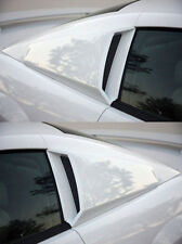 Fits 99 04 Ford Mustang V6 Gt Xenon Urethane 14 Quarter Window Scoops 2pc 12710 Fits Mustang