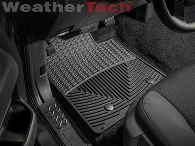Weathertech All Weather Floor Mats Ford F  Extended Cab   Black Ebay
