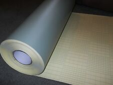 "Vinyl Resist 12 Mil Sandblasting film, Etch, paint Masking Stencil 23.6""X 60"""
