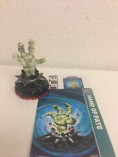 HAND OF FATE Skylanders Trap Team figure+card+code white skeleton hand