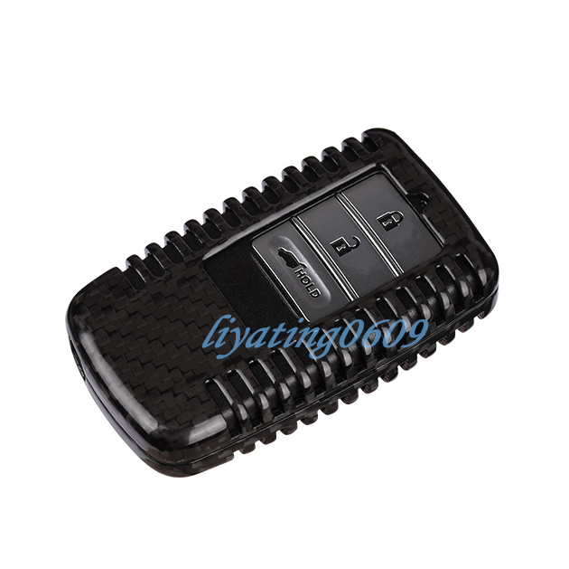 Real Carbon Fiber Remote Key Case Fob Shell Key Cover For