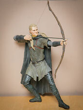 "Talking NECA Lord of the Rings Legolas Greenleaf Elf 20"" Epic Figure Reel Toys"