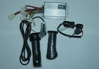 Electric Scooter 36v 1000w Motor Controller Speed Box&throttle&ignition Switch