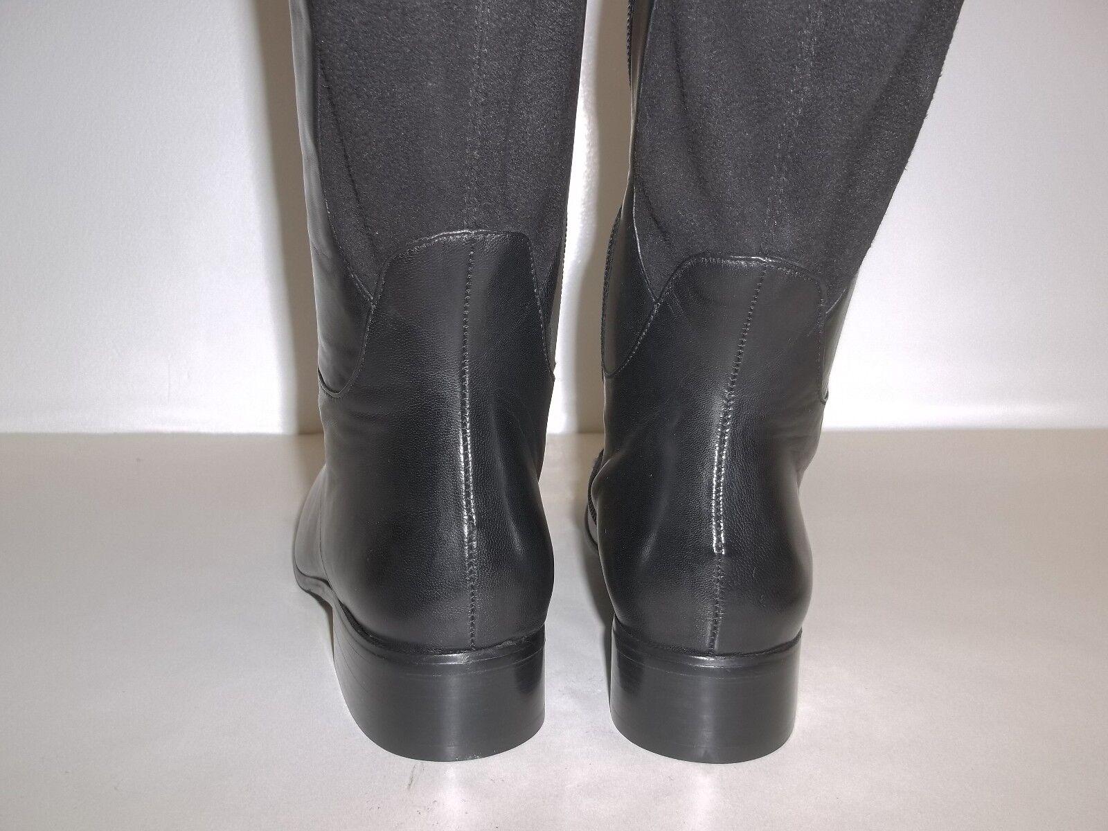 VANELi VANELi VANELi Van Eli Size 6.5 W Wide RAMEX Black Leather Boots New Womens Shoes 1015d3