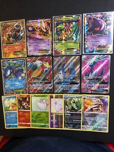 Pokemon Sun /& Moon card Lot 100  Cards Rare Included GX