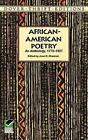 African-American Poetry: An Anthology, 1773-1927 by Joan R. Sherman (Paperback, 1997)