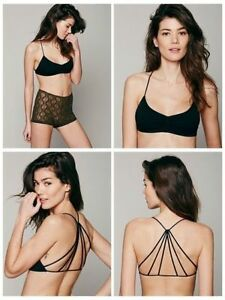 Celebrity-Sexy-Women-Bralette-Cut-Out-Padded-Bra-Cage-Caged-Back-Bralet-Crop-Top