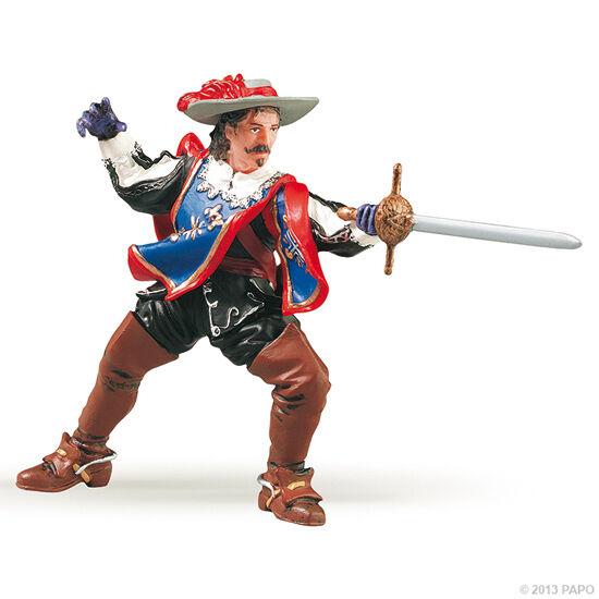 Papo 39903 Aramis Musketeer 3 1//2in Historical Figures