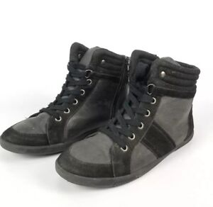Call-It-Spring-Womens-Black-High-Top-Shoes-Size-7
