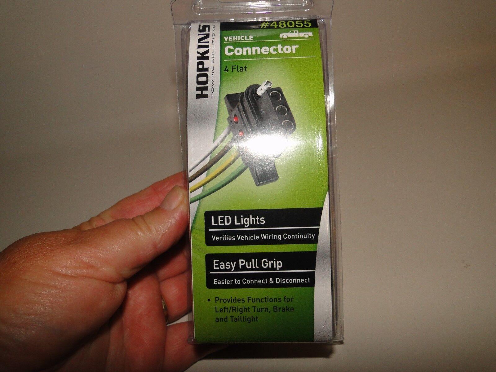 Hopkins 48055 LED 4-Wire Flat