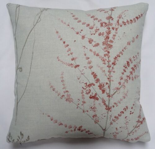"""Sanderson /""""Heath/"""" Cushion Cover in Stone and Rose by Anderson Castle Design"""