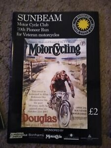 Sunbeam-Motor-Cycle-Club-Pioneer-Run-Programme-70th-2008
