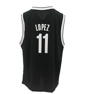 the best attitude b6fa7 87fc9 Details about Brooklyn Nets Official NBA Adidas Kids Youth Size Brook Lopez  Jersey New Tags
