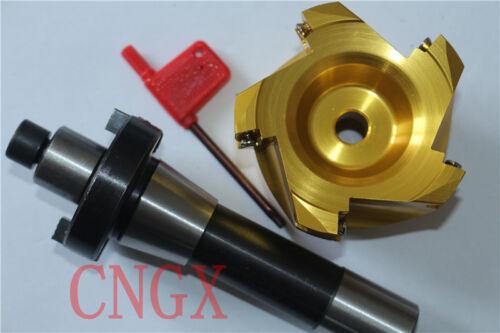 BAP400R-S63-22-4T Aluminum Cutter+R8-22 Face Mill Arbor Shell Morse Taper Holder