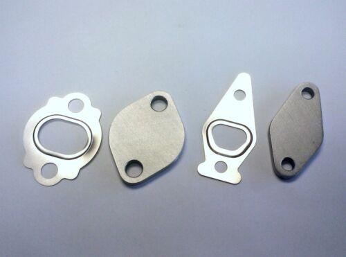 Air Pump Delete Kit FXT STI LGT Block-Off Plates w// gaskets  for Subaru WRX