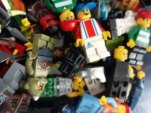 LEGO-MINIFIGURE-BUNDLE-8-random-figures-people-minfigs