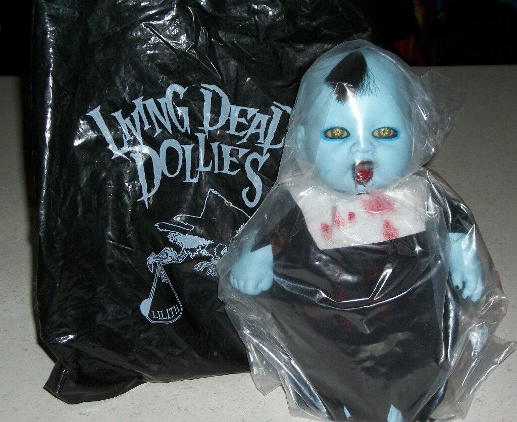 Living Dead plataformas rodantes San Diego Comic Con Comicon horror Dollie Muñecas del bebé Goth Lillith Regalo De Navidad