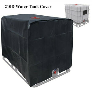 Housse-Protection-Couvercle-Container-IBC-Bache-Reservoir-d-039-eau-de-Pluie-1000-L