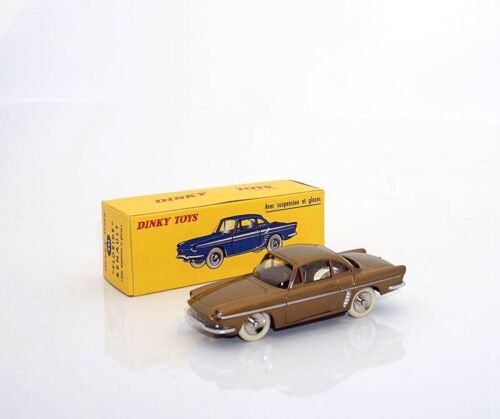 1:43 DeAgostini DINKY TOYS RENAULT FLORIDE 543 gold CAR MODEL DIECAST Collection