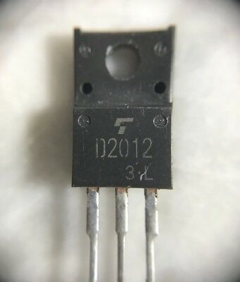 5pcs 2SD2012 D2012 NPN TRIPLE DIFFUSED TYPE TO-220F