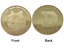 thumbnail 1 - 1Pc Gold Dogecoin Coins New Collectors Gold Plated Doge Coin Token #DOGE