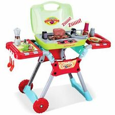 Kitchen Play Deluxe Bbq Pretend Grill Set W/ Light Sound Toy Kids Gift  Children