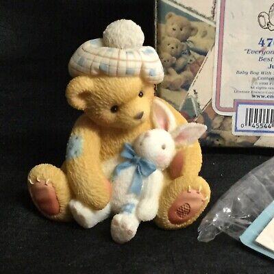 """???? Cherished Teddies """"junior"""" Figurina 476641 1998 In Scatola!-mostra Il Titolo Originale"""