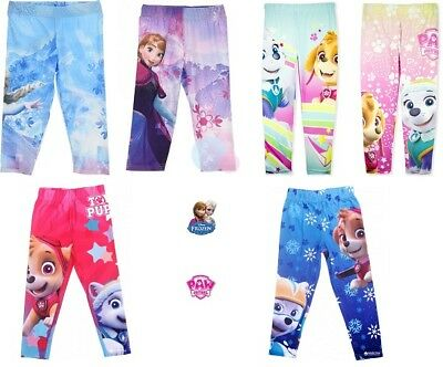 Cromoncent Girl Stretchy Comfy Thicken Fleece Cartoon Pants Legging