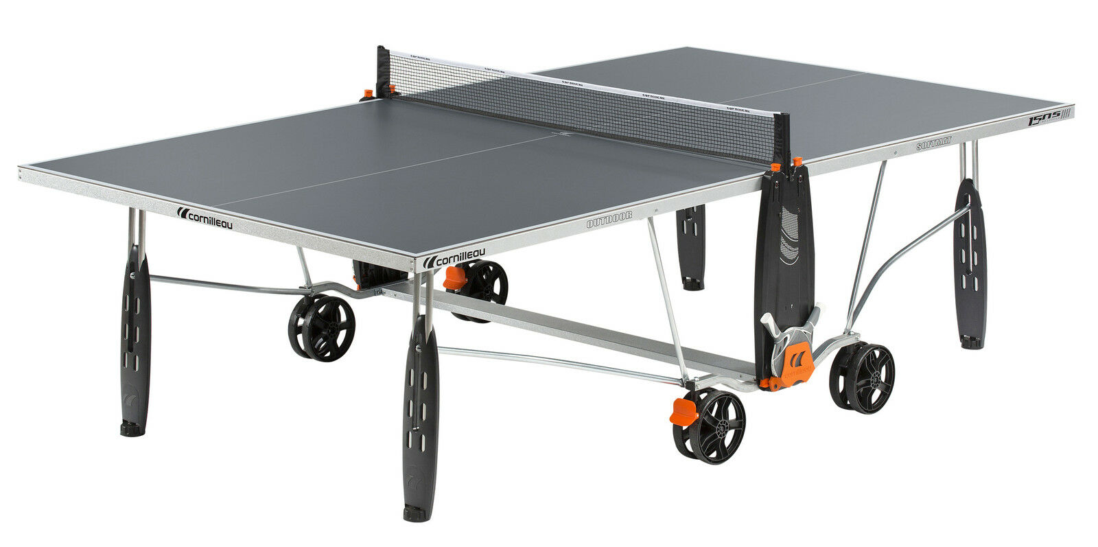 NEW 131767 CORNILLEAU Sport 150S Outdoor Weatherproof Table Tennis Table Grey