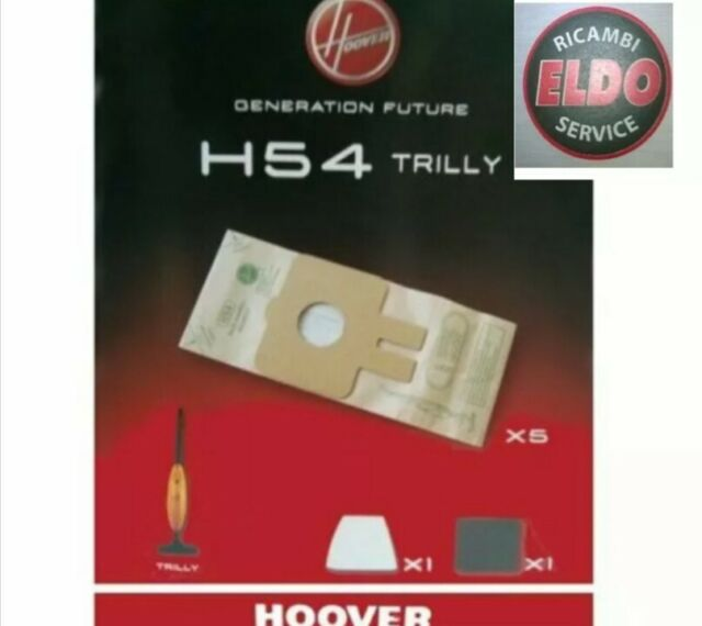 Bolsas Aspiradora Originales para Todos los Modelos Hoover las Hadas H 54 N.5
