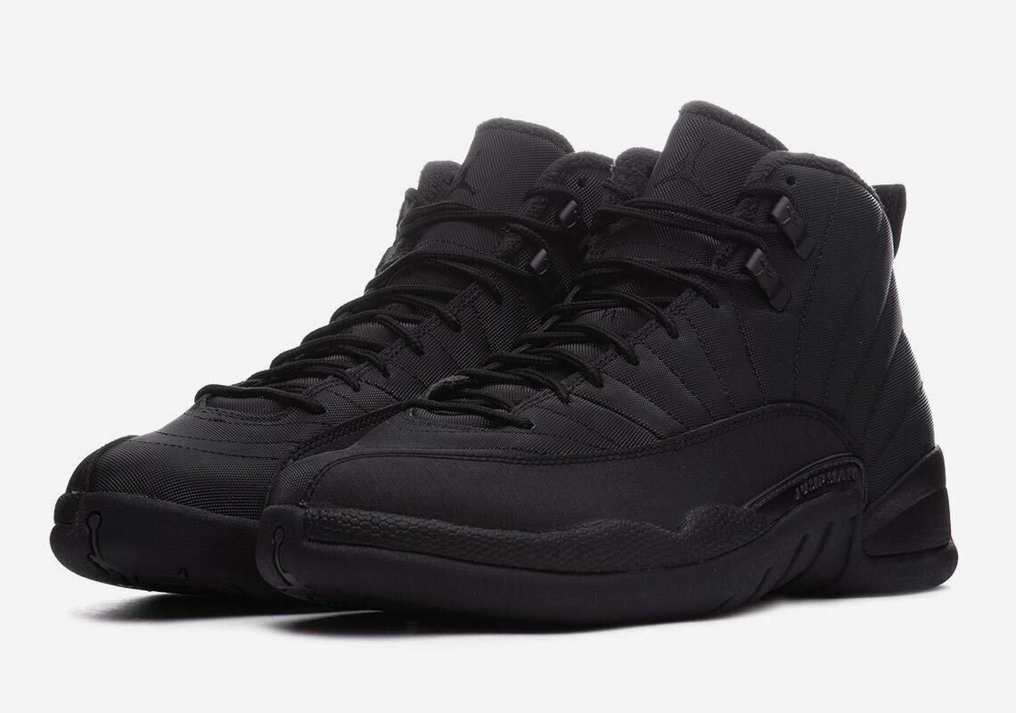 2018 Nike Air Jordan 12 XII Retro SZ 10 Black Anthracite BQ6851-001