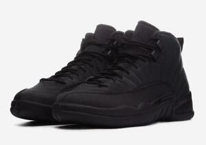 c710ca91ed50 2018 Nike Air Jordan 12 XII Retro SZ 10 Black Anthracite Winterized ...