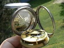 XL IMPROVED PATENT SUNDERLAND ENGLISCHE TASCHENUHR Pocket Watch London