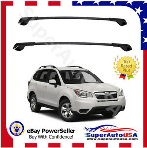 Fit For 2014 2019 Subaru Forester Oe Style Aero Cross Bars Top Roof