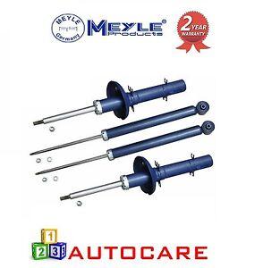MEYLE-VW-Golf-MK4-Bora-amp-Gti-Juego-Completo-De-Gas-shocks