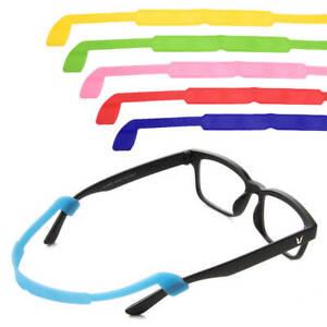 bas prix mieux aimé vraiment à l'aise Détails sur Sport Silicone verres retenue cou cordon lunettes chaîne  lecture longe mous