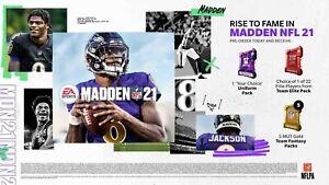Madden 21 Pre-Order Bonus Ultimate Team Code Microsoft Xbox One (USA REGION) DLC