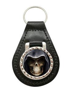Grim-Reaper-Leather-Key-Fob