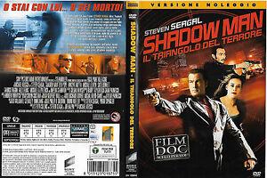 SHADOW MAN - IL TRIANGOLO DEL TERRORE (2006) dvd ex noleggio - Italia - SHADOW MAN - IL TRIANGOLO DEL TERRORE (2006) dvd ex noleggio - Italia