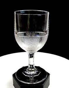 PANELED-STIPPLED-BOWL-EAPG-NON-FLINT-PATTERNED-GLASS-6-1-8-034-WATER-GOBLET-1870-039-s