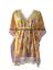 縮圖 1 - Indian Cotton Boho Caftan Bikini Cover Dress Kaftan Beach Wear Poncho Short Maxi