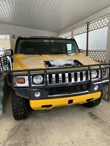 2003 Iconic Hummer H2 with low KM in good running Condition