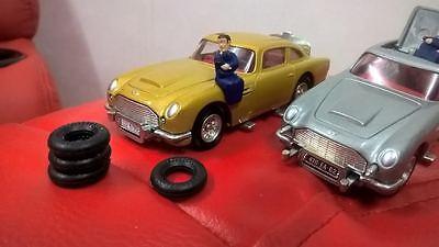 261 James Bond Aston Martin Db5 Pneumatici Set Di 4 Nuovo Di Zecca-mostra Il Titolo Originale