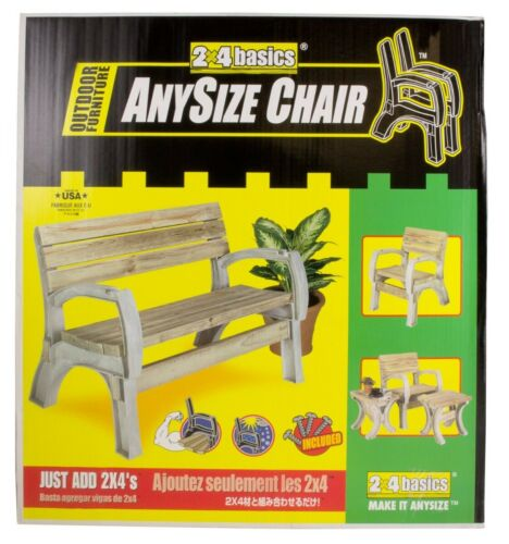 BENCH KIT BUILD YOUR OWN 2X4 BASICS ANY SIZECHAIR SAND 90134MIE