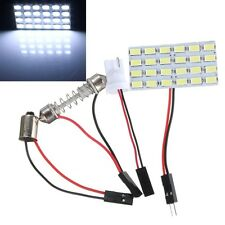 24SMD 5730 LED White Light Panel Board Auto Interior Map Dome Reading Lamp 12V